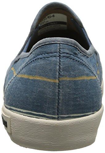 Seavees Mens Baja Break Line Slip-on Sneaker Orion Blue