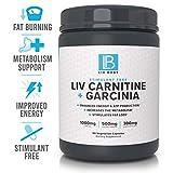 LIV Body   LIV Carnitine + Garcinia   Stimulant Free, 1000mg of Carnitine, 500mg of Garcinia Cambogia & 300mg of Green Coffee Bean ... (Carnitine)