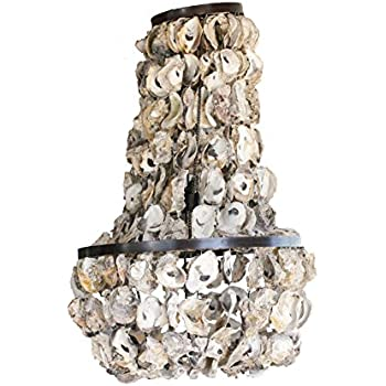 op shell round height ac by amazon oyster co dp com creative chandelier