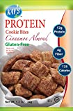 Kay's Naturals Protein Cookie Bites, Cinnamon Almond, Gluten-Free, Low Carbs, Low Fat, All Natural Flavorings, 1.2 Ounce (Pack of 6)