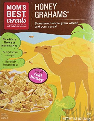(Mom's Best - Honey Grahams - 11.5 Oz (Pack of 4))