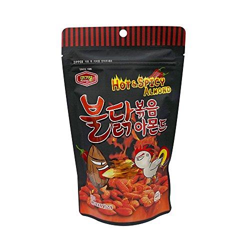 ([Murgerbon] Bulldark Spicy Chicken Roasted Almond 210g (7.4oz) (overseas direct shipment))