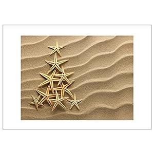 51GI6JLfmhL._SS300_ Beach Christmas Cards and Nautical Christmas Cards