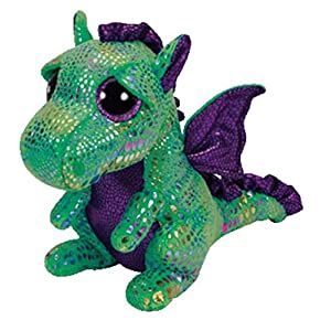 Ty Beanie Boos Cinder The Green Dragon Plush - 51GI6LIVLuL - Ty Beanie Boos Cinder The Green Dragon Plush