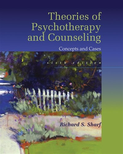 1305087321 - Theories of Psychotherapy & Counseling: Concepts and Cases