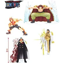 One Piece Super Effect ability's figures vol.3 all four set
