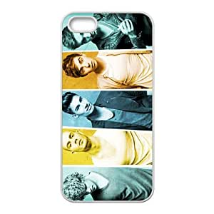 The Wanted Pattern Design Solid Rubber Customized Cover Case for iPhone 4 4s 4s-linda653