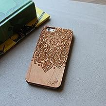 Mandala Wood Engraved Phone Case for iPhone 6/6s (iPhone 5c)