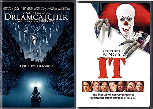 Used, Stephen King Horror DVD Bundle - IT & Dreamcatcher for sale  Delivered anywhere in USA