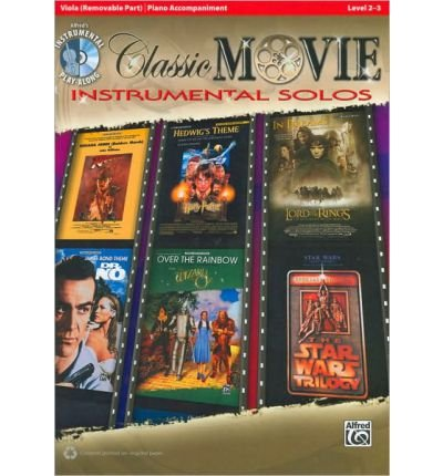 Classic Movie Instrumental Solos for Strings: Viola, Book & CD (Pop Instrumental Solo) (Paperback) - Common