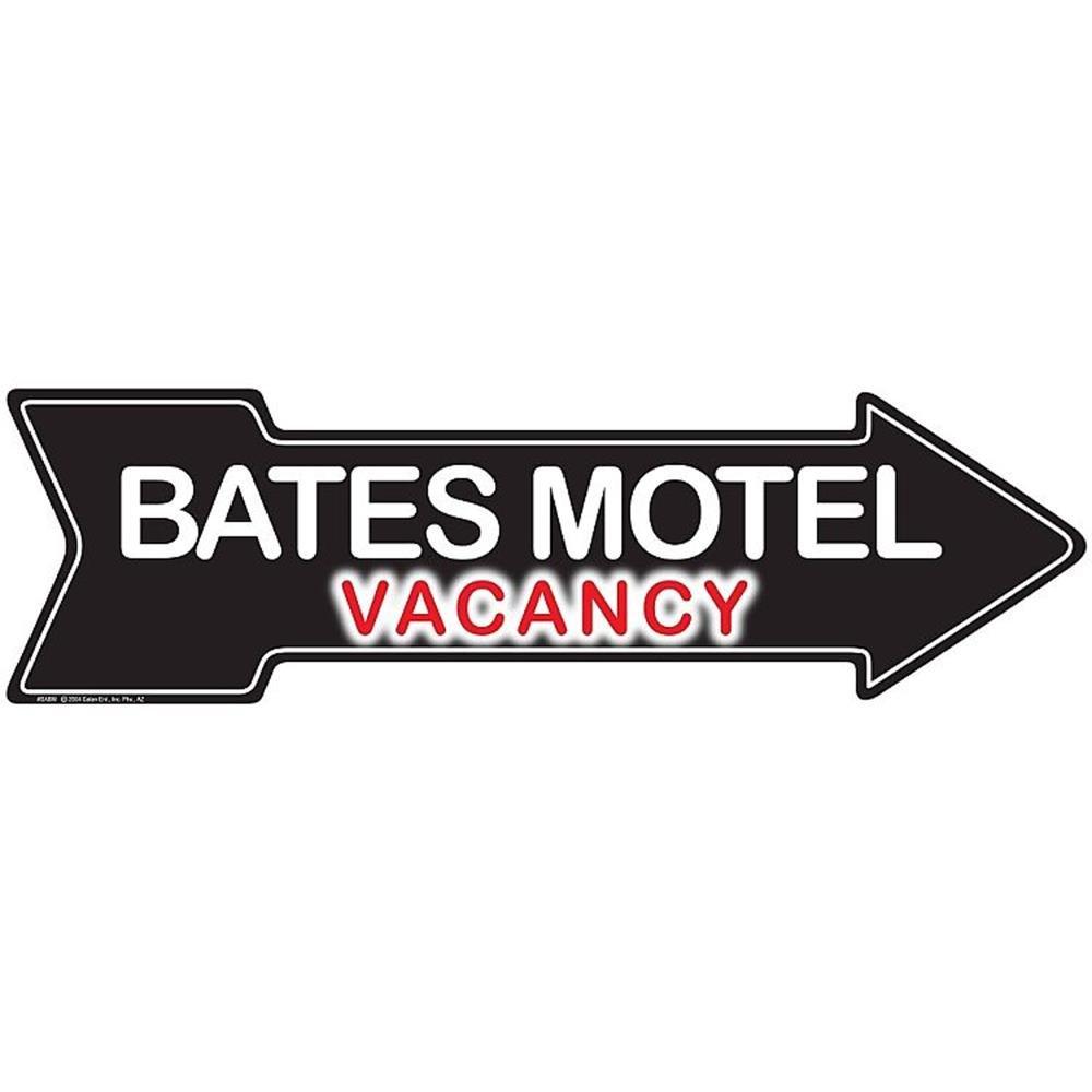 Signs 4 Fun SABM Bates Motel, Arrow Sign