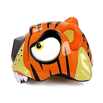 West ciclismo niños casco de seguridad con dinosaurio Tiger Shark Donkey Cartoon patrón para ciclismo patinaje