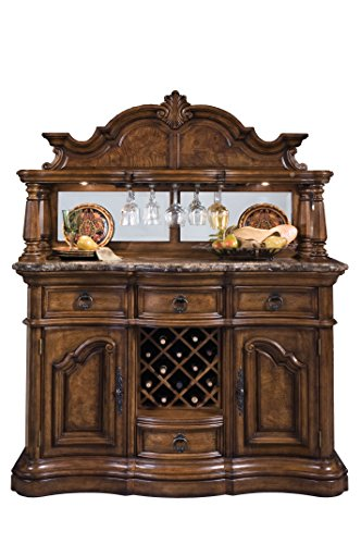 Pulaski San Mateo Sideboard and Hutch
