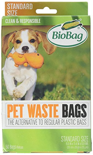 - Bio Bag Premium Pet Waste Bags, Standard Size, 50 Count - Pack of 4