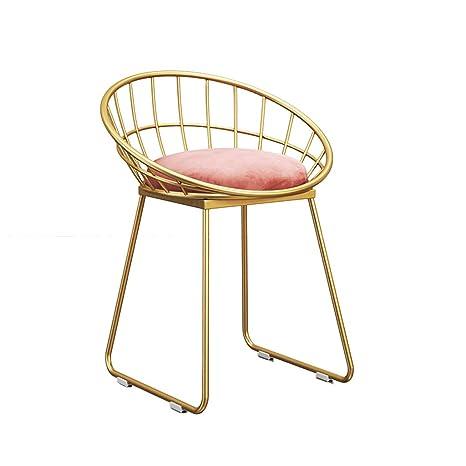 Amazon.com: JHSLXD silla de maquillaje, hogar niña ...