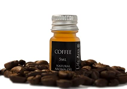 Profumo Aceite de aroma Café Botella de 5cc Fragancia Natural (4cm x 2cm)