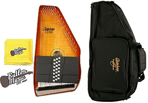 Oscar Schmidt OS11021FHS Acoustic 21 Chord Autoharp w/Gig Bag + More by Oscar Schmidt