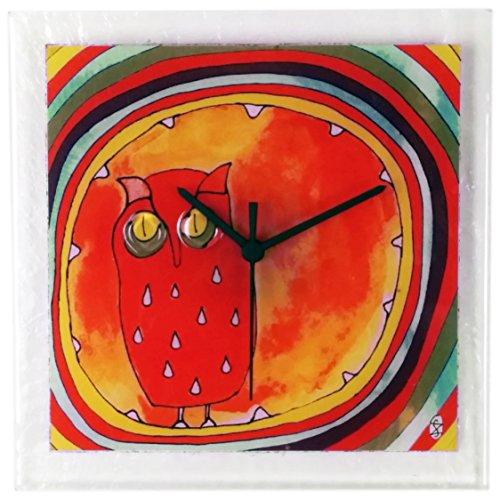 Hooting Owl Clock - 6