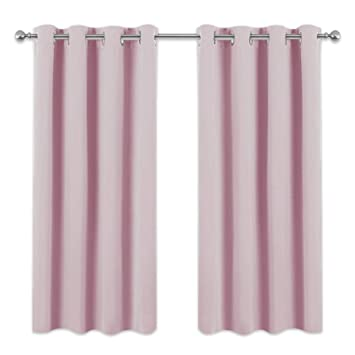 Polyester Pink Bären Vorhang Querbehang Mädchen Kinderzimmer Vorhang
