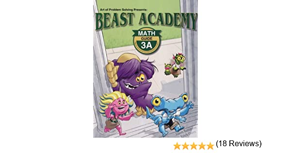 Art of Problem Solving Beast Academy 3A and 3B and 3C and 3D Guide ...