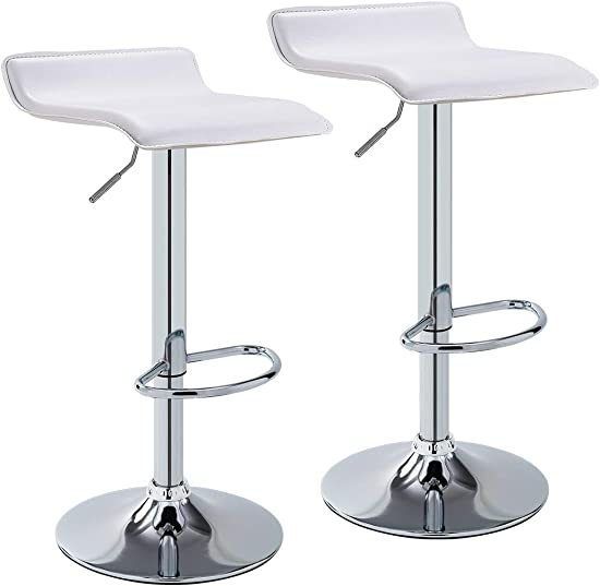 Duhome Elegant Lifestyle Bar Stool WY-118 Curved Adjustable