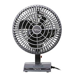 Lifelong 200 mm Table Fan, Grey