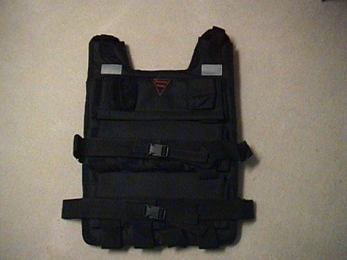 80 LBS. Weighted Vest for Exercise Fitness Vest by BESTCO PRODUCTS