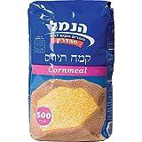 Hanamal Cornmeal Gluten Free 16.5 Oz. Pack Of 3.