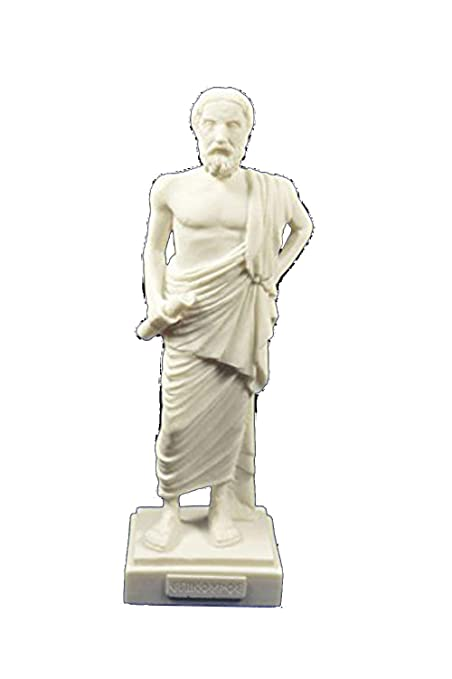 Estia Creations Diogenes sculpture the cynic statue ancient Greek philosopher
