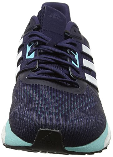 Aqua Chaussures Ink Adidas Comptition De noble Running energy White Supernova footwear Femme Bleu Zqq857wr