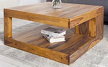 Dunord Design Couchtisch Goa Palisander Massivholz Tisch Massiv