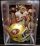 San Francisco 49ers NFL Helmet Shadowbox w/Colin
