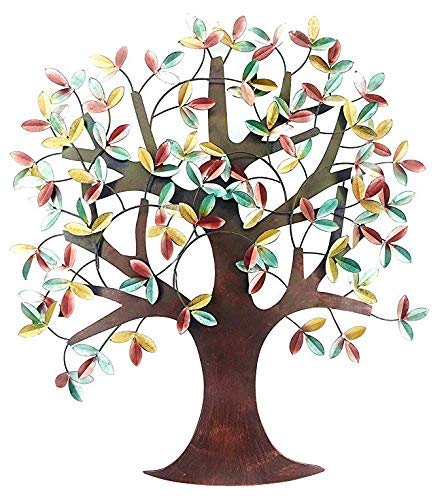 "Bellaa 23455 Metal Tree Wall Decor 32""H, 31""W Tree of Life"