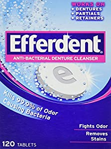 Efferdent Anti-Bacterial Denture Cleanser, Not just for