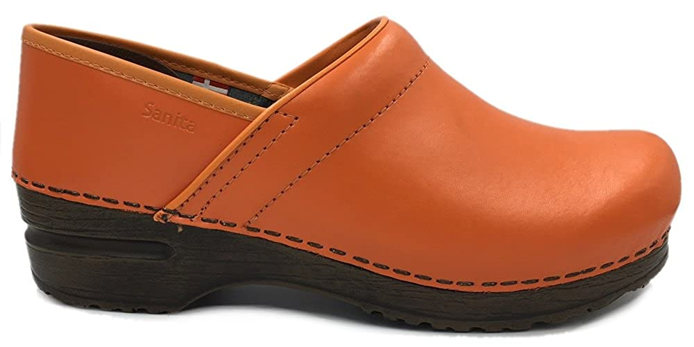 Sanita Izabella' Professionell Clogs in Orange Orange (Kunst :457006) Orange in 9f0bfe