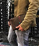 Refillable Leather Journal Writing
