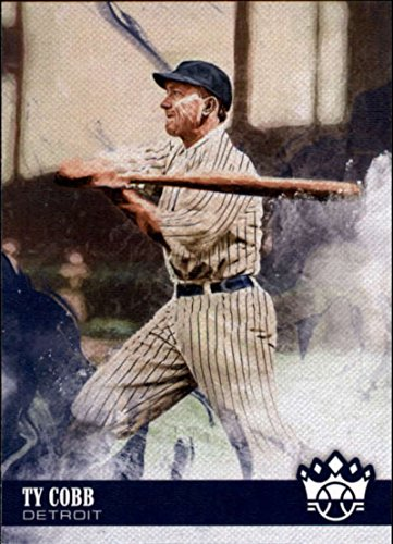 Ty Cobb Cards - 2018 Panini Diamond Kings #34 Ty Cobb Detroit Tigers Baseball Card