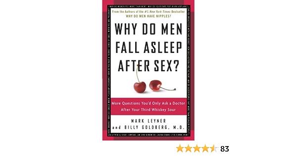 Books & why do men fall asleep after sex