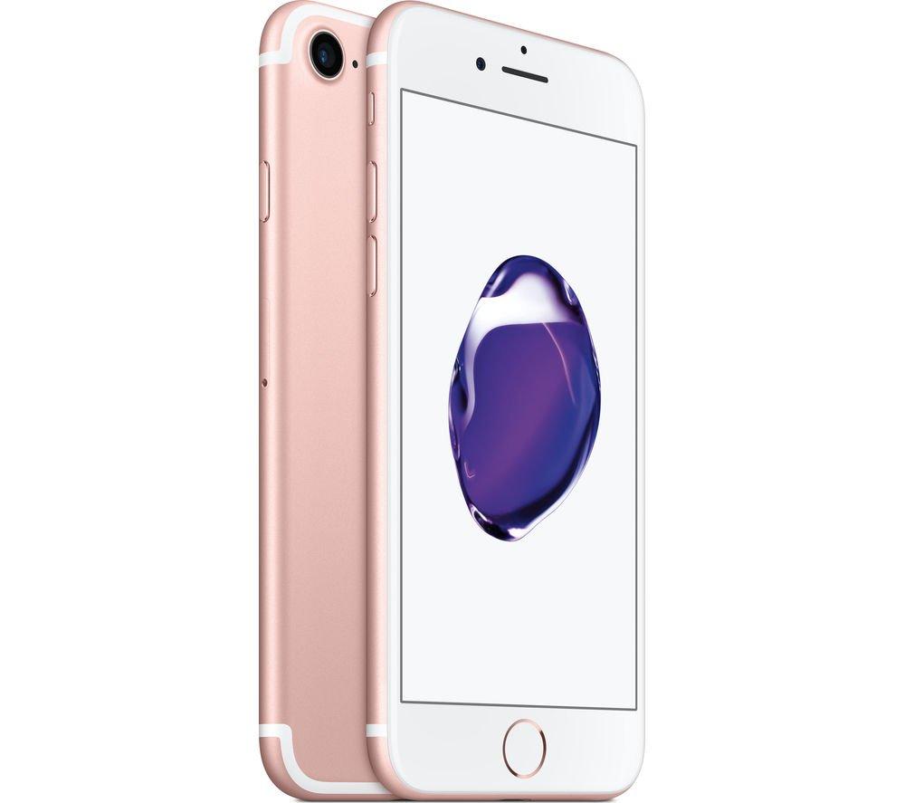 Apple iPhone 7 32GB, Rose Gold (Renewed) by Apple