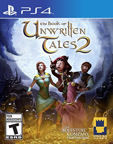 Book Unwritten Tales PlayStation Standard