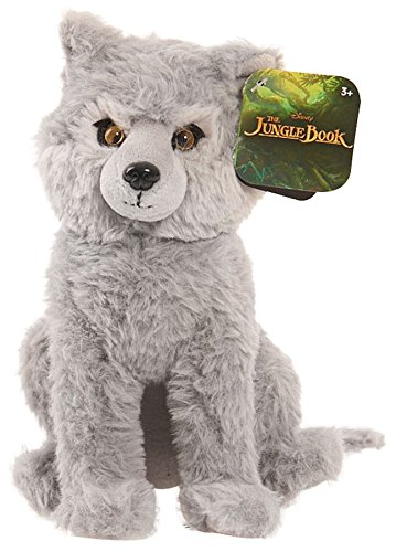 Threats Gray Wolf - Disney Jungle Book Gray Baby Wolf Bean Plush