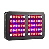 Lxyoug 600W LED Grow Light – Full Spectrum Reflector-Series Plant Grow Light with Rope Hanger for Indoor Plants VEG & Bloom -600W(10W LEDS 60Pcs)