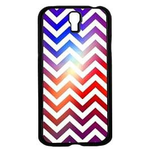 Colorful Gradient Chevron Print Hard Snap on Phone Case (Galaxy s4 IV)