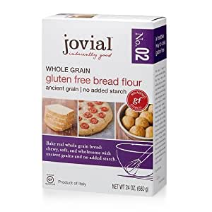 Amazon.com : Jovial, Flour Bread Whole Grain, 24 Ounce