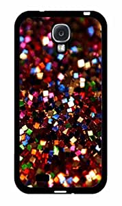 Red Square Glitter - Phone Case Back Cover (Galaxy S4 - Plastic)