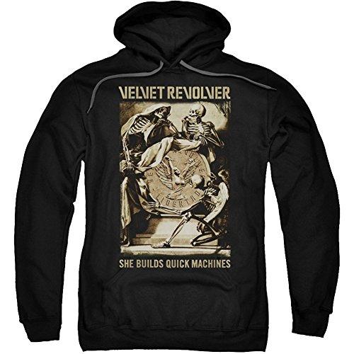 Velvet Sudadera Hombre Opaco Para Manga Con Capucha Larga Revolver Hgx4qRHw7