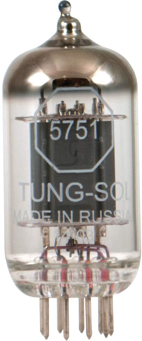 Brand New Gain Tested Tung-Sol Reissue 5751 Gold Pins Vacuum Tube