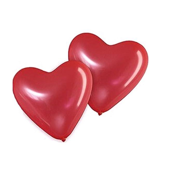 19 opinioni per OULII Palloncini cuore rosso Palloncini in lattice per decorazioni partito di