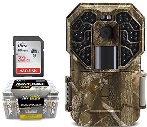 Trail Camera Bundle 3 Items | Stealth Cam G45NG + AA Battery 24 PK + 32 GB SD Card | 14 MP Pictures | HD Video W/ Audio| NO Glow Night Vision Motion Activated Infrared 100 FT Range by Stealth Cam (Image #9)