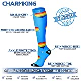 CHARMKING Compression Socks for Women & Men